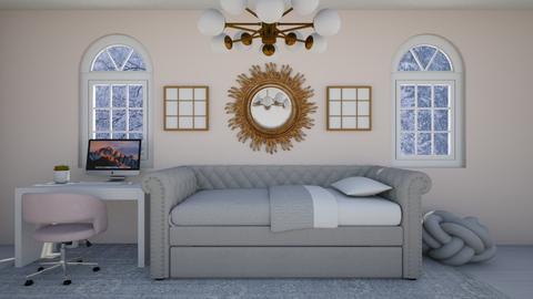 Pink Princess bedroom - Kids room  - by ChayGerard
