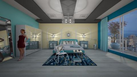 TR - Modern - Bedroom - by Saj Trinaest