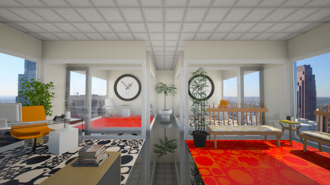 Office space - Modern - Office  - by Nicky West