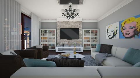 New Living Room - Eclectic - Living room  - by DeborahArmelin