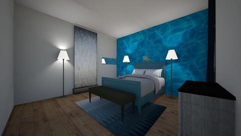 The 4 Elements no 1 water - Bedroom  - by greekgirl37