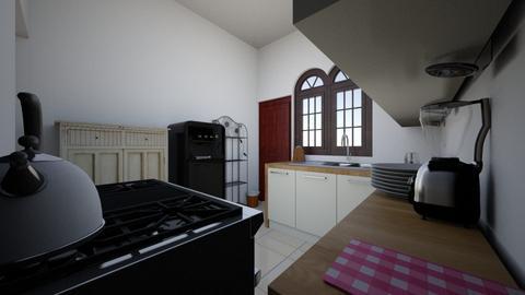 kitchen 3 - Classic - Kitchen  - by sandeepa