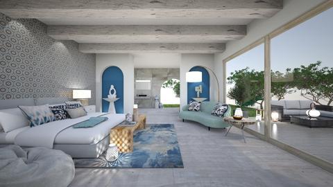 modern greek - Modern - Living room  - by Terka90