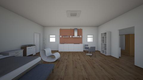 Bedroom Music Studio - Modern - Bedroom  - by RockingBen