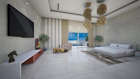 Casablanca - Modern - Bedroom  - by aleksdimzla