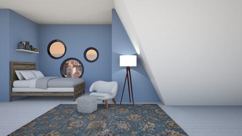 Leave Me Alone - Modern - Bedroom  - by designcat31