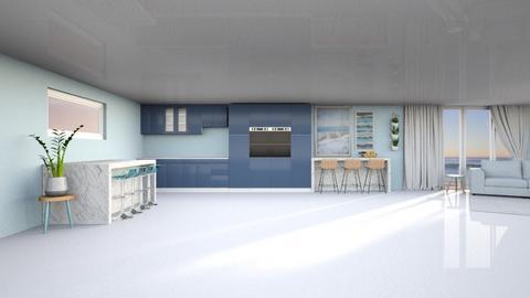 Ocean - Minimal - Kitchen  - by kaede11