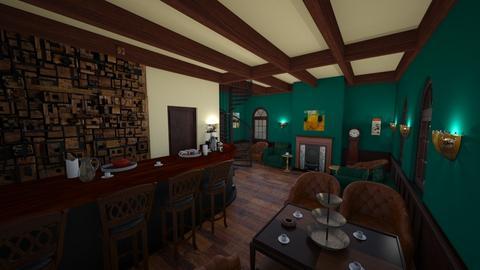 Vintage coffee shop - Vintage - by kristianvalchev