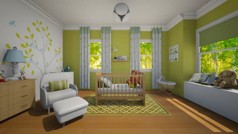 Baby room - Kids room  - by milicaa91