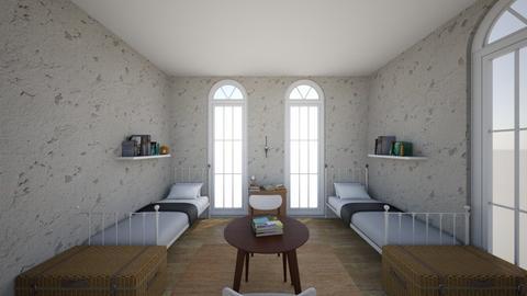 AOT Bedroom - Bedroom  - by enchillautumn