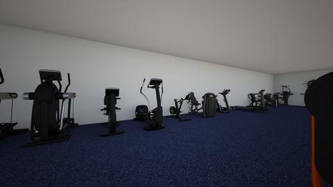 gym - by krgee