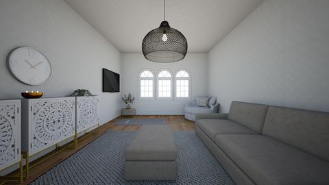yoga - Living room  - by Rubybradt