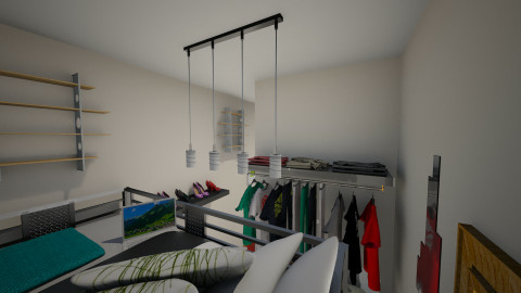 Micro Home Bedroom View 2 - Bedroom  - by Christina Zouras