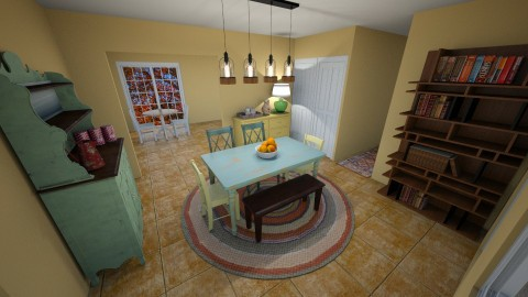 House Design 4 - by Wendy Tunnell