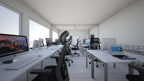 mobile2 office design - Modern - Office  - by dastanzhas