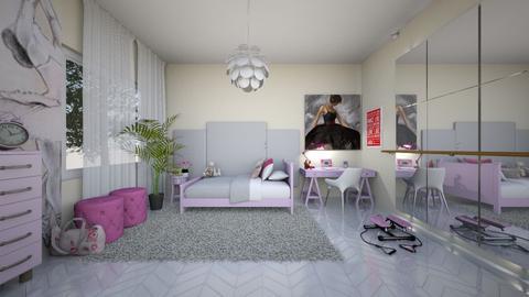 Swan Lake - Bedroom  - by Marta Perkowska