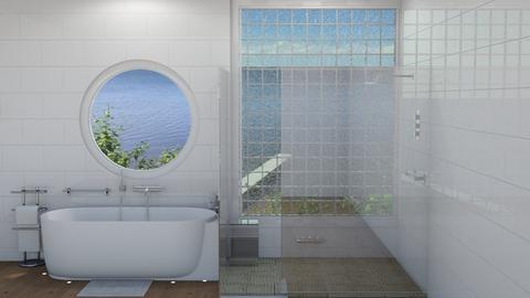 Scandinavian bath - Minimal - Bathroom  - by rcrites457