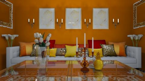 India Liv - Global - Living room  - by decordiva1