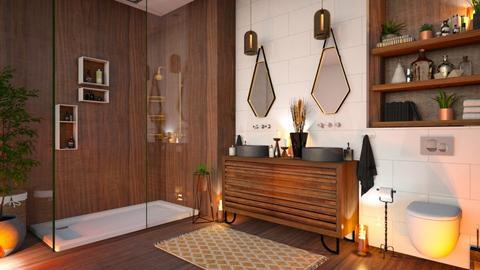 MCM Bath - Bathroom - by zarky