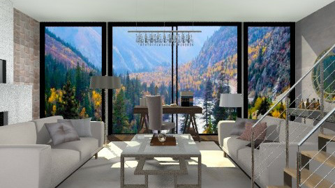 valley decor - Glamour - Living room  - by sahfs