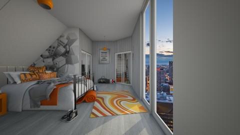 Loft Bedroom - Bedroom  - by Cakepopss