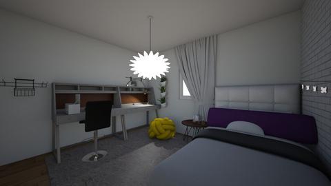 dorm room - by Monswayla