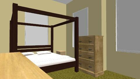 jennifer - Vintage - Bedroom  - by yentasdoitbetter