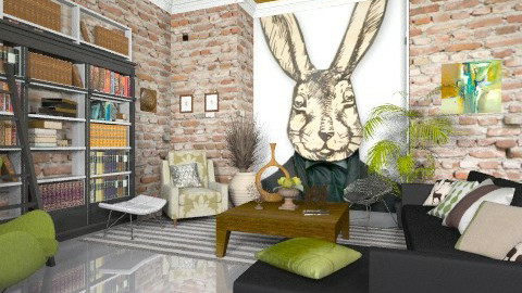 Bunny Room - Eclectic - by BerBer