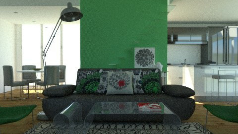 graphic green - Modern - by ovchicha