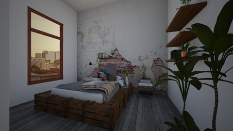 rustic bedroom - by fred20