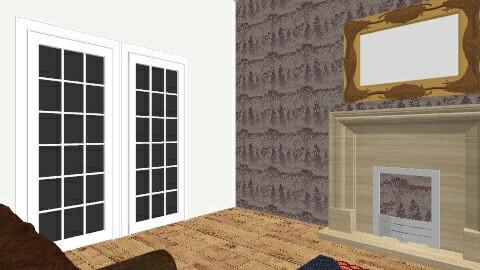 Living Room 3 - Retro - by koommen