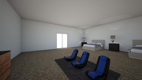 game room  - Modern - Bedroom  - by 2027blandnajee