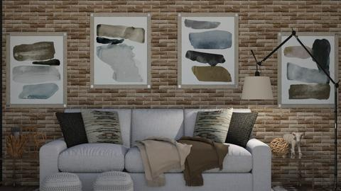 Calm  - Eclectic - Living room  - by Drama Llama
