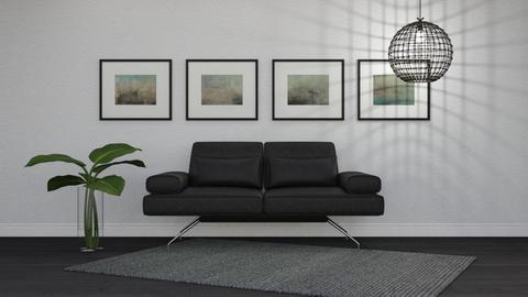 Minimalist - Minimal - Living room  - by Theadora