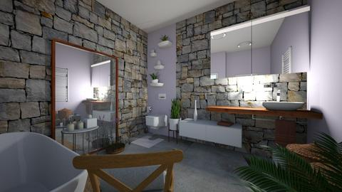 Lavander - Rustic - Bathroom - by Maja06