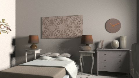 dust and ash - Retro - Bedroom  - by faar70