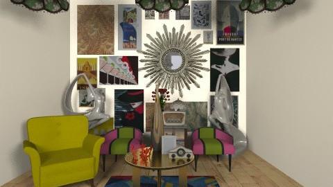 ART DECO - Vintage - Living room  - by Coco_Juno