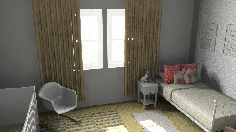 Abbey's room 3 - Eclectic - Kids room  - by Kellory