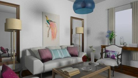 anjo branco - Living room - by Deise  Tamires