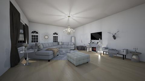 Glamour living room - Glamour - Living room  - by Scarlet_luna