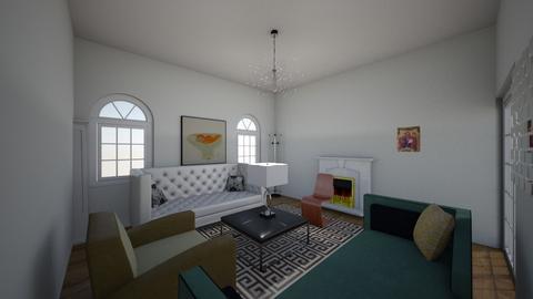 Greek room - Modern - Living room  - by oxxxsunflowerxxxo