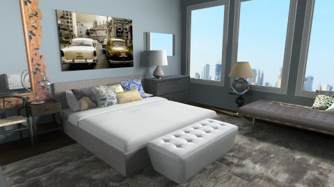 Master Bedroom - Eclectic - Bedroom  - by lauren_murphy