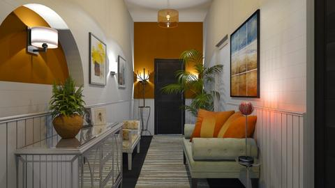 Welcoming Hallway - by ashpashly