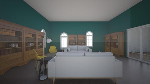 library living room - Classic - Living room  - by R2 Nuoli