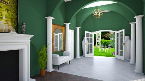 Hallway - Classic - by Kathran