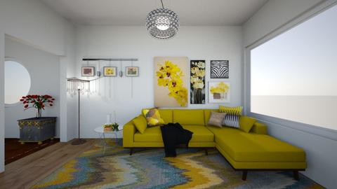 yellow - Living room  - by Wensday