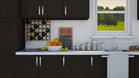 Little Kitchen - Modern - Kitchen  - by millerfam