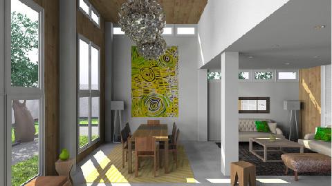 aboriginal art f_PRINT - Eclectic - by TV Renders