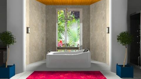 bath1 - Modern - Bathroom  - by ninaswiman