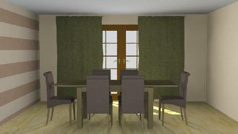 My Room - Dining Room  - by jjayr